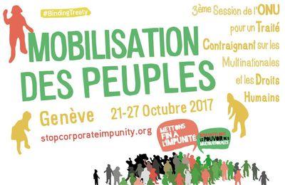 SEMAINE de MOBILISATION des PEUPLES à Genève