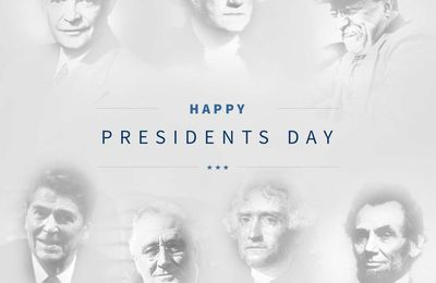 Happy Presidents Day!