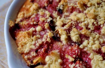 Crumble aux figues