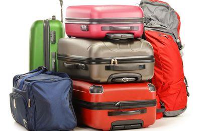 Billet d'été sur la valise