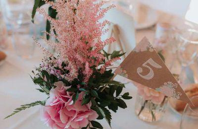 Options de mariage de Jenna, assorties au faire part thème bohème chic et champêtre ...