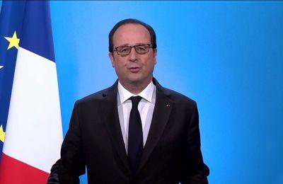 France :Perezida François Hollande yiyemeje kutajya mu matora yo kwiyongeza indi manda  mu mwaka w'2017!