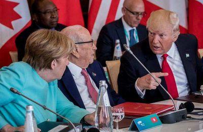 USA :Un fossé entre Trump et le reste du G7