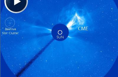 Soleil éruption solaire supérieur à une classe X