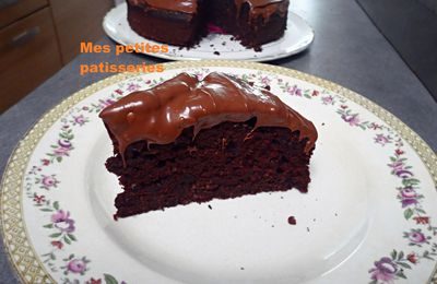 Gâteau au chocolat ultra moelleux