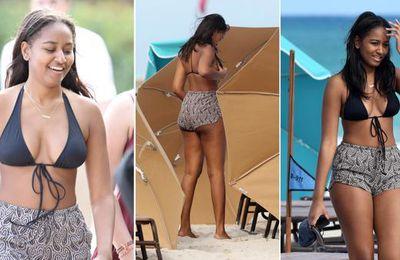 Sasha Obama savoure déjà des vacances normales