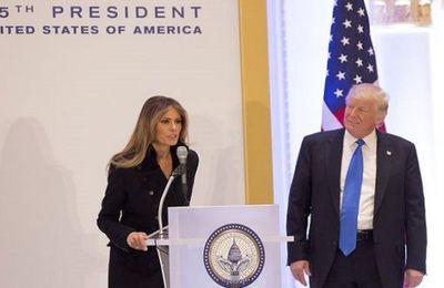 Donald Trump: Quand sa femme Melania lui offre un moment gênant en public