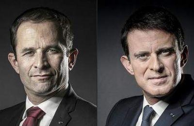 Primaire du PS: un second tour Hamon-Valls