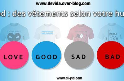mymood : des vêtements selon votre humeur