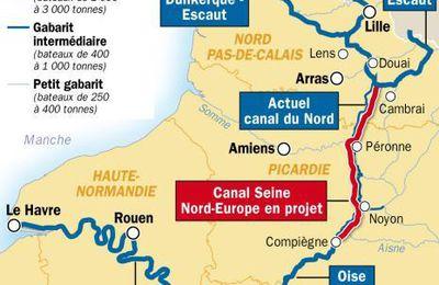 Les élu-e- s se mobilisent POUR le Canal Seine-Nord Europe