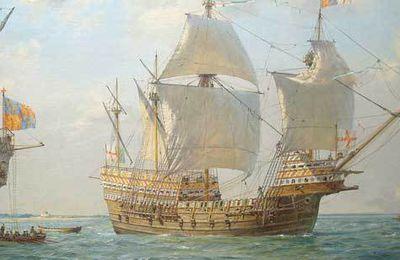 Morlaix attaqué par les Anglais en 1522