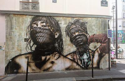 Street art à Ménilmontant