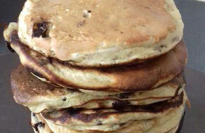 Pancake banane chocolat sans sucres ni matière grasse
