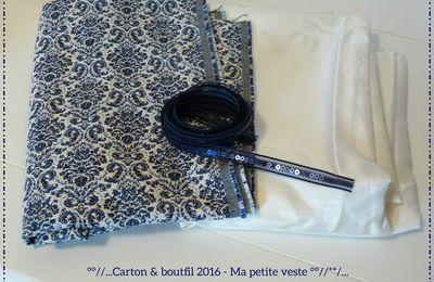 """""""Ma petite veste bleue"""""""