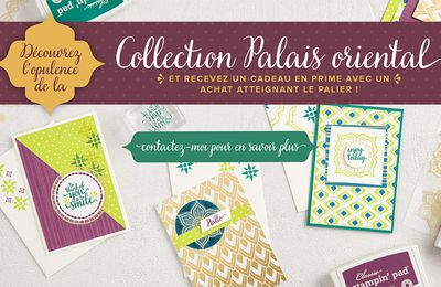 Collection palais oriental stampin up