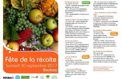 Jardin de Traverse La fête de la récolte le samedi 30 septembre 2017 de 10h à 20h