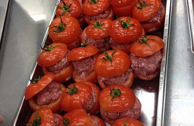 Les tomates farcies à la façon Sainte-Famille/Mille et un repas du Nord