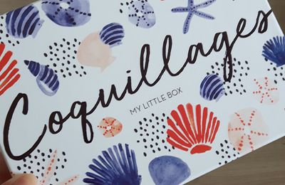 My little box de juillet: Coquillage