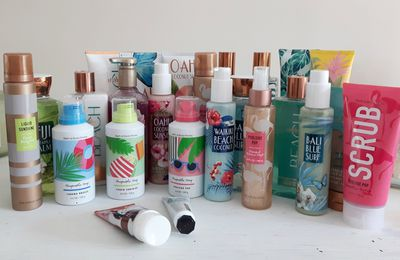 Haul bath and body works été 2017