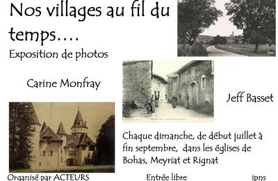 Exposition de photos : nos villages au fil du temps