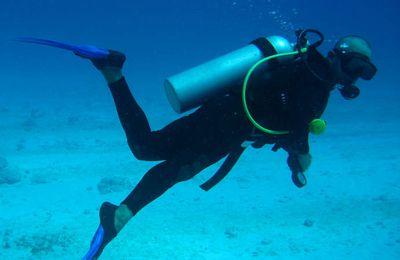 La blague du jour - Plus fort qu'un plongeur professionnel