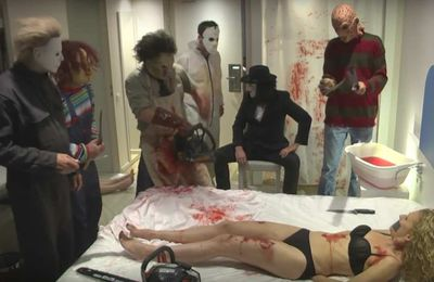 Rémi Gaillard et ses Serial Killers s'eclatent à l'hotel