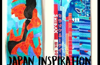 Tokyo - Kakemonos d'inspiration japonaise