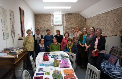 september 2017: workshop results Felt in the Factory and Big Cat Textiles