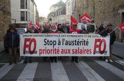 Mobilisation du 16 novembre 2017 contre les ordonnances Macron : FO Cermex a répondu présent !