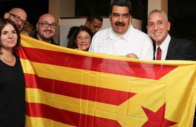 El independentismo catalán suma a... Nicolás Maduro