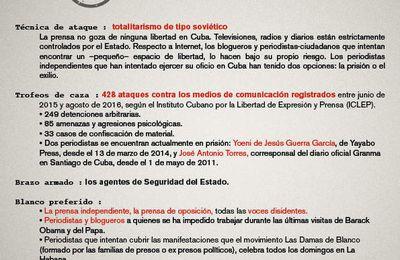 Predadores de la libertad de prensa en América Latina