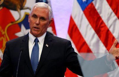 Vicepresidente de EE.UU., Mike Pence, pide a Chile, Brasil, México y Perú que corten relaciones con Corea del Norte