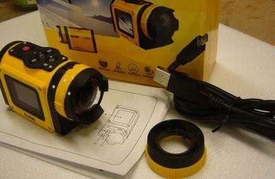 tests caméras embarquées Kodak Pix Pro SP1 et Drift stealth 2