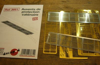 construction auvents de protection caténaires Décapod