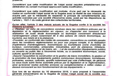 Conseil municipal du 20 janvier: Des chiffres et des jetons ... 2ème partie