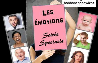 Spectacle  3 juin 2017 - LES EMOTIONS