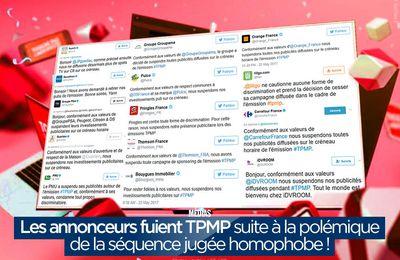 Les annonceurs fuient TPMP suite à la polémique de la séquence jugée homophobe ! #TPMP