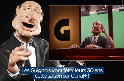 Les Guignols vont fêter leurs 30 ans cette saison sur Canal+ ! #LesGuignols