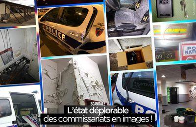 L'état déplorable des commissariats en images ! #UPNI