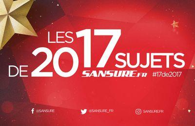 Votez pour les 17 sujets de 2017 ! #17de2017