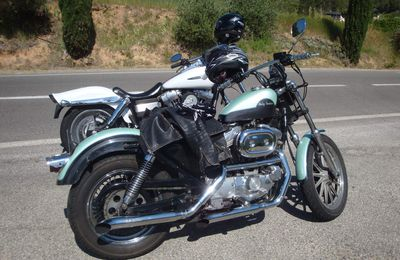 Les Gorges du Verdon, La Bergerie de Faucon et les lavandes du plateau de Valensole en Harley Davidson