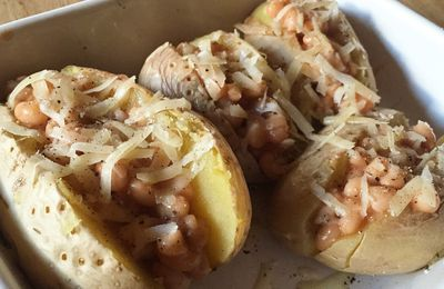 Jacket Potatoes aux beans