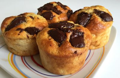 Muffins healthy banane Nutella