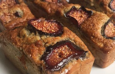 Banana bread aux figues
