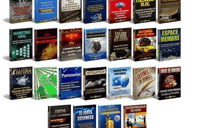 Le marketing internet en 25 ebooks