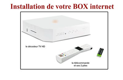 Installation de votre box internet, Martinique