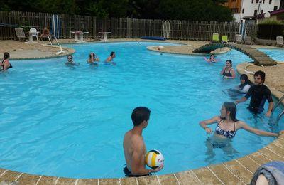 Après-midi détente en piscine et sortie en ville ! (dernier jour)