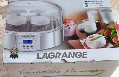 Yaourtière - Fromagère Lagrange : un appareil 2 en 1 pour faire ses fromages et yaourts à la maison