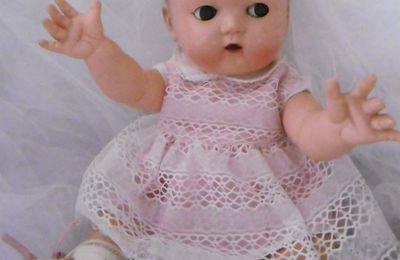 CAROLINE BEBE IDEAL DE RAYNAL ET SON FRERE IDEAL DOLL
