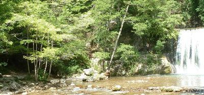 MGM - Cascade verte et cascade blanche depuis Pont-en-Royans